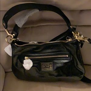 Authentic coach bag.  Black.  Small